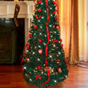 L'albero di Natale che si srotola