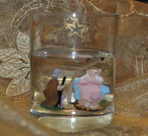 Per Natale ... una candela gel, fai da te!