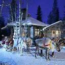 Vacanze di Natale in Lapponia a casa di Babbo Natale