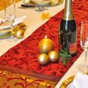 Addobbi e decorazioni per la tavola di Natale
