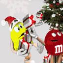Auguri di Natale dolcissimi con gli M&M's