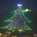A Gubbio l'albero di Natale più grande al mondo