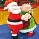 Babbo e Mamma Natale ballerini